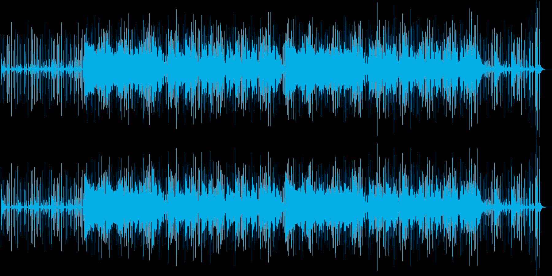 手拍子したくなるリズムのポップスの再生済みの波形
