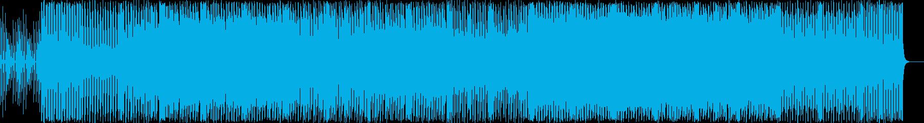 怪しい雰囲気のポップスの再生済みの波形