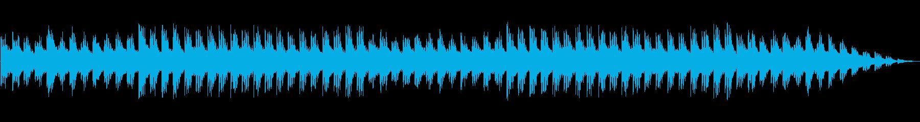 ゲームBGM風の再生済みの波形