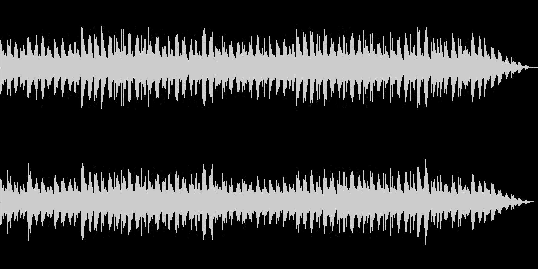 ゲームBGM風の未再生の波形