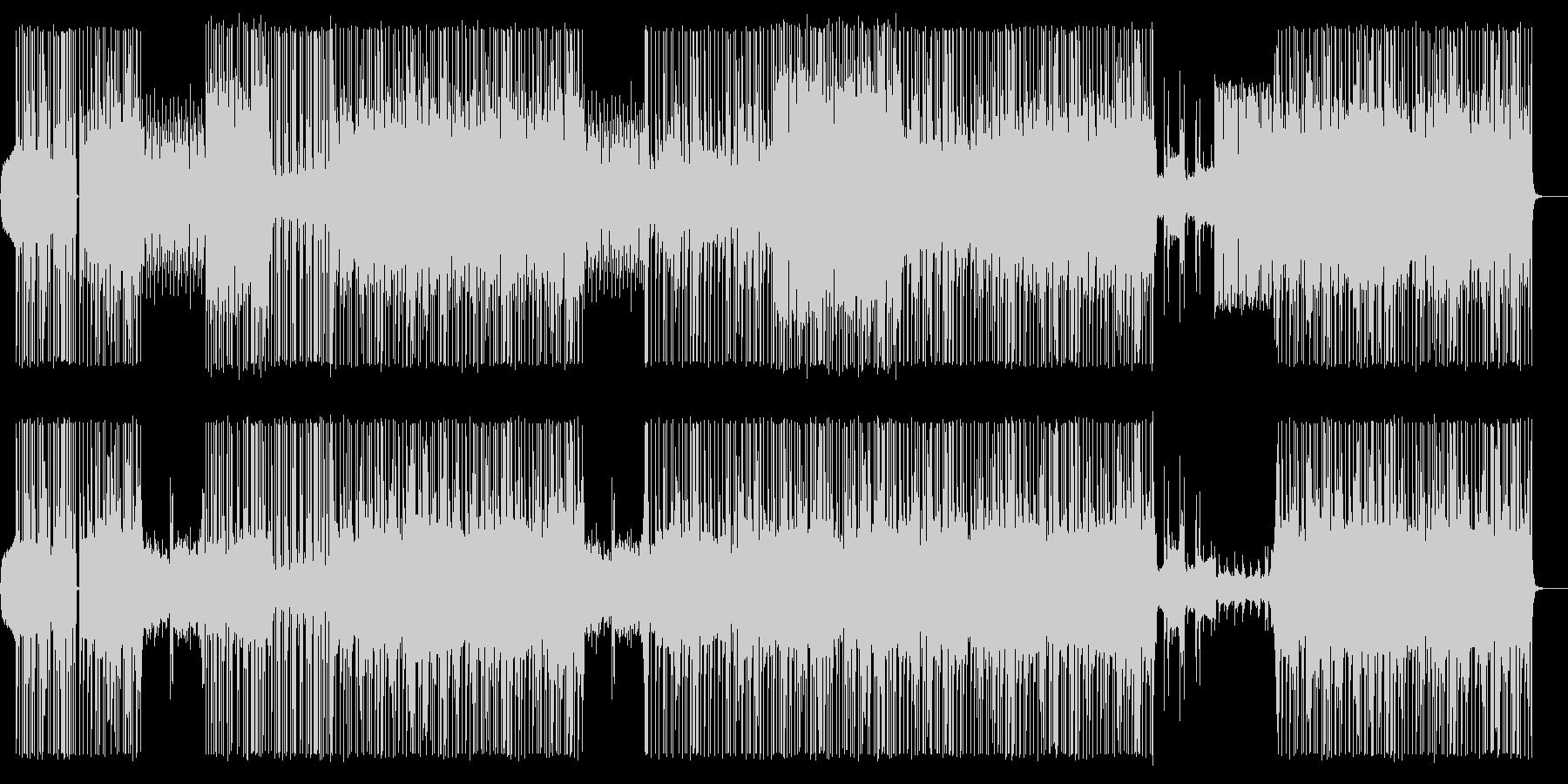 ピアノメインのHip-Hop/Beatの未再生の波形