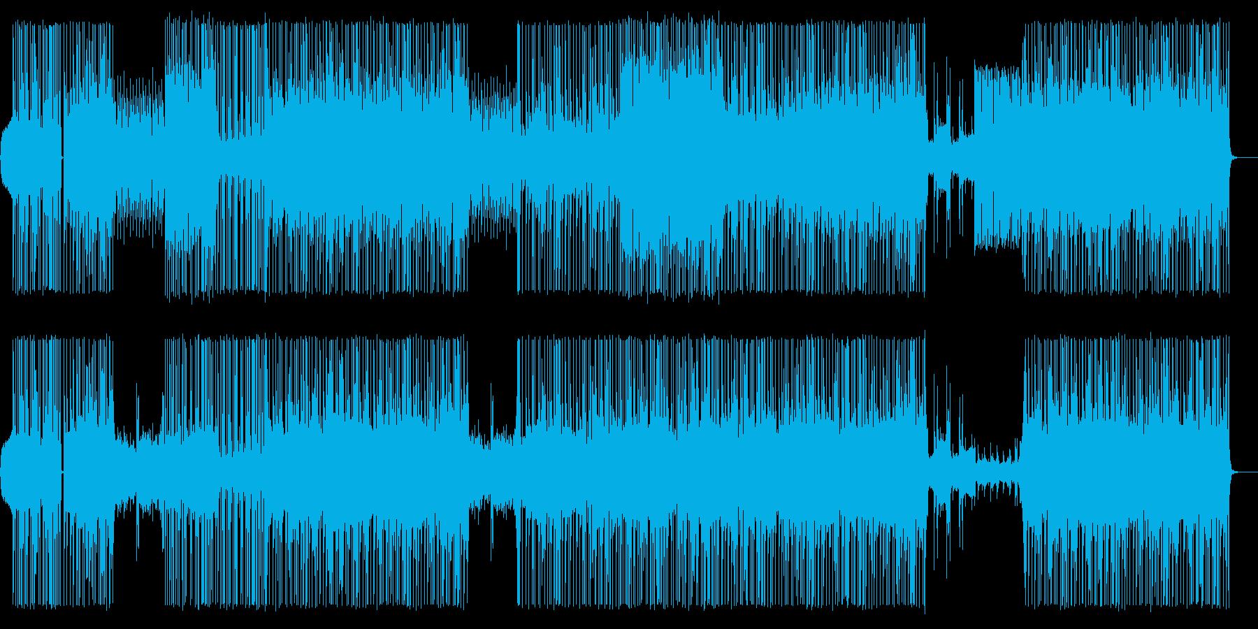 ピアノメインのHip-Hop/Beatの再生済みの波形