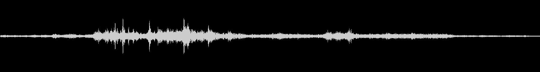 バイノーラル録音戦闘機4の未再生の波形