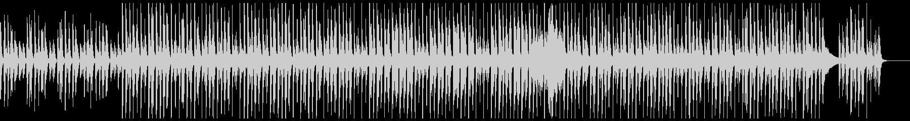 ピアノと口笛のほのぼの可愛いポップスの未再生の波形
