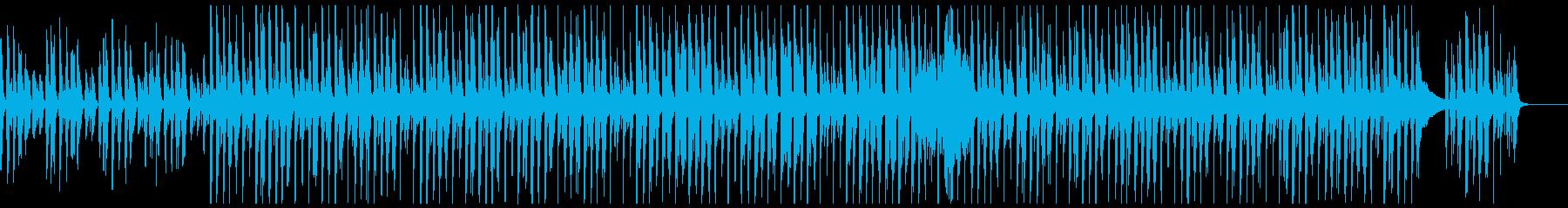 ピアノと口笛のほのぼの可愛いポップスの再生済みの波形
