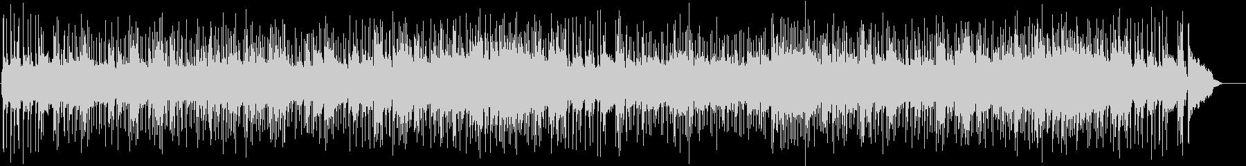 耳ざわり良い安らぎのボサノヴァ・サウンドの未再生の波形