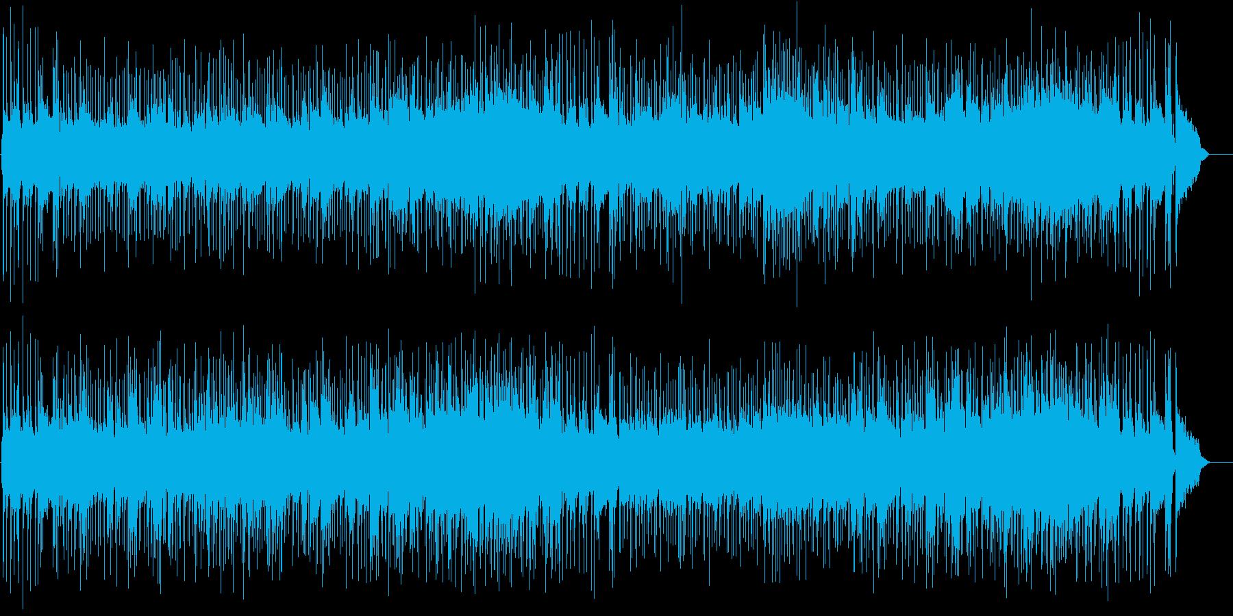 耳ざわり良い安らぎのボサノヴァ・サウンドの再生済みの波形
