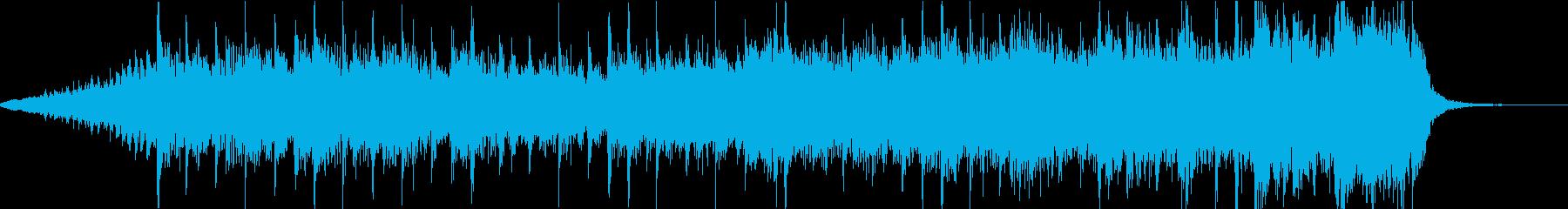 最終決戦前のBGMの再生済みの波形