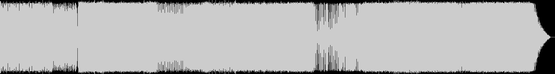 サイバーパンクでインダストリアルの未再生の波形