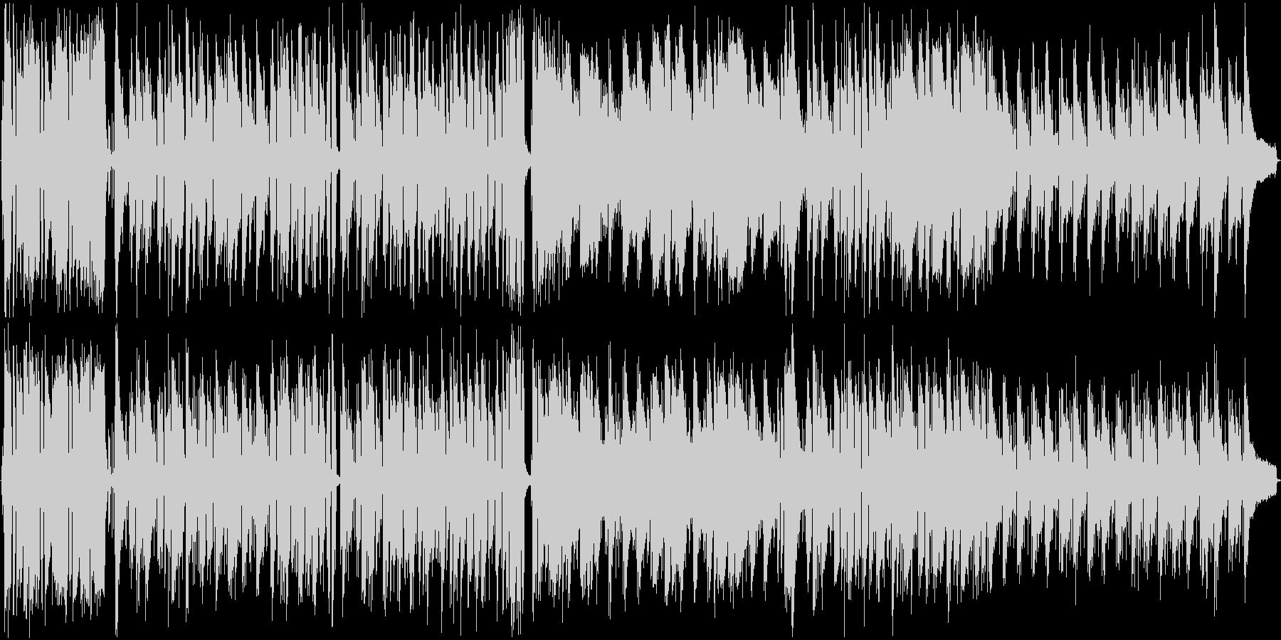 フラメンコ風 おしゃれななラテンBGMの未再生の波形