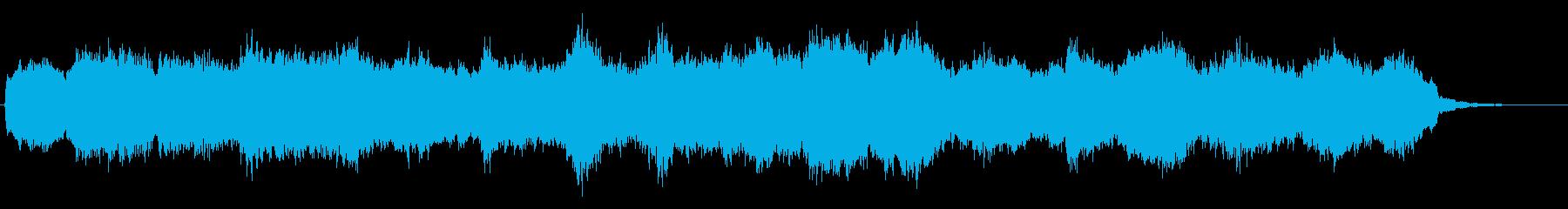 バスクラリネットのほのぼのとしたジングルの再生済みの波形