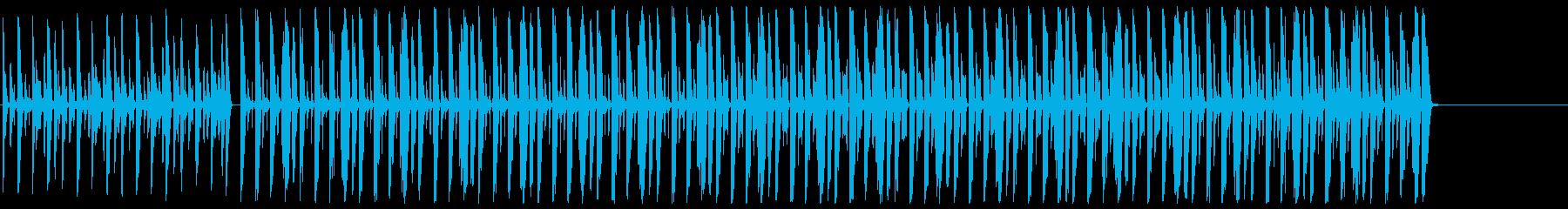 元気 コミカル オープニング 楽しいの再生済みの波形