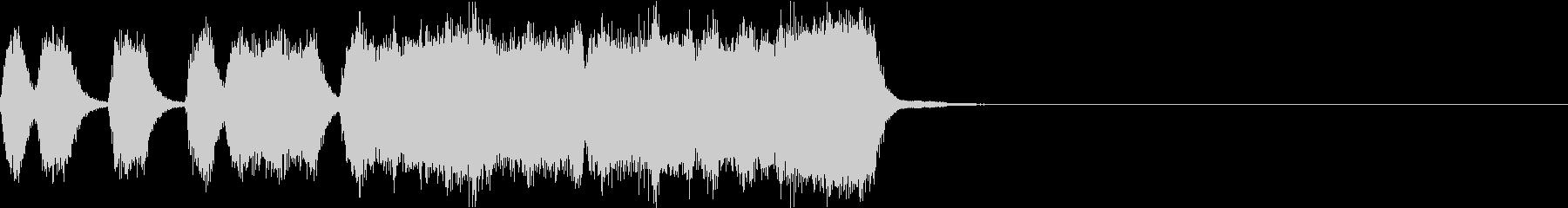 シンプル トランペット ファンファーレJの未再生の波形