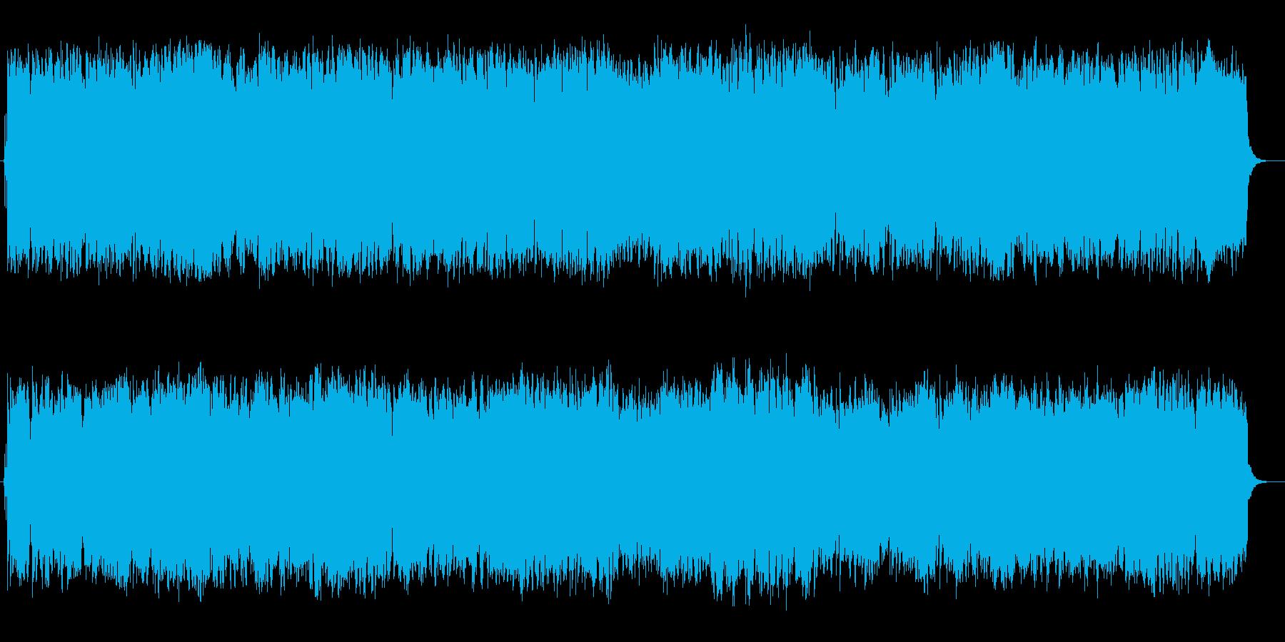 荘厳な雰囲気のストリングスポップスの再生済みの波形