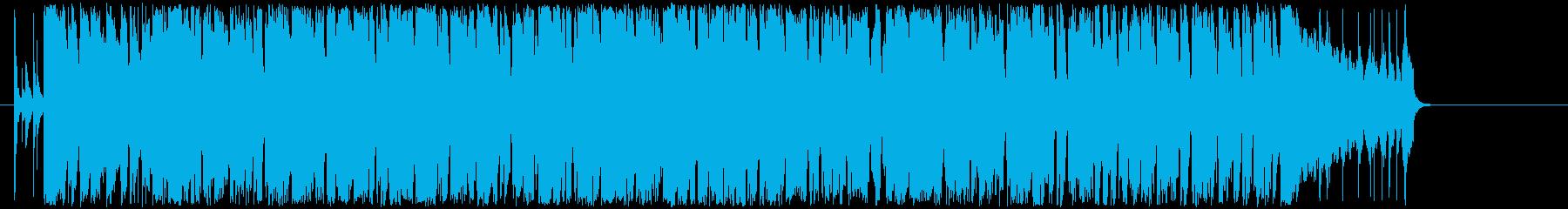 ほのぼのとしたアコースティックポップの再生済みの波形