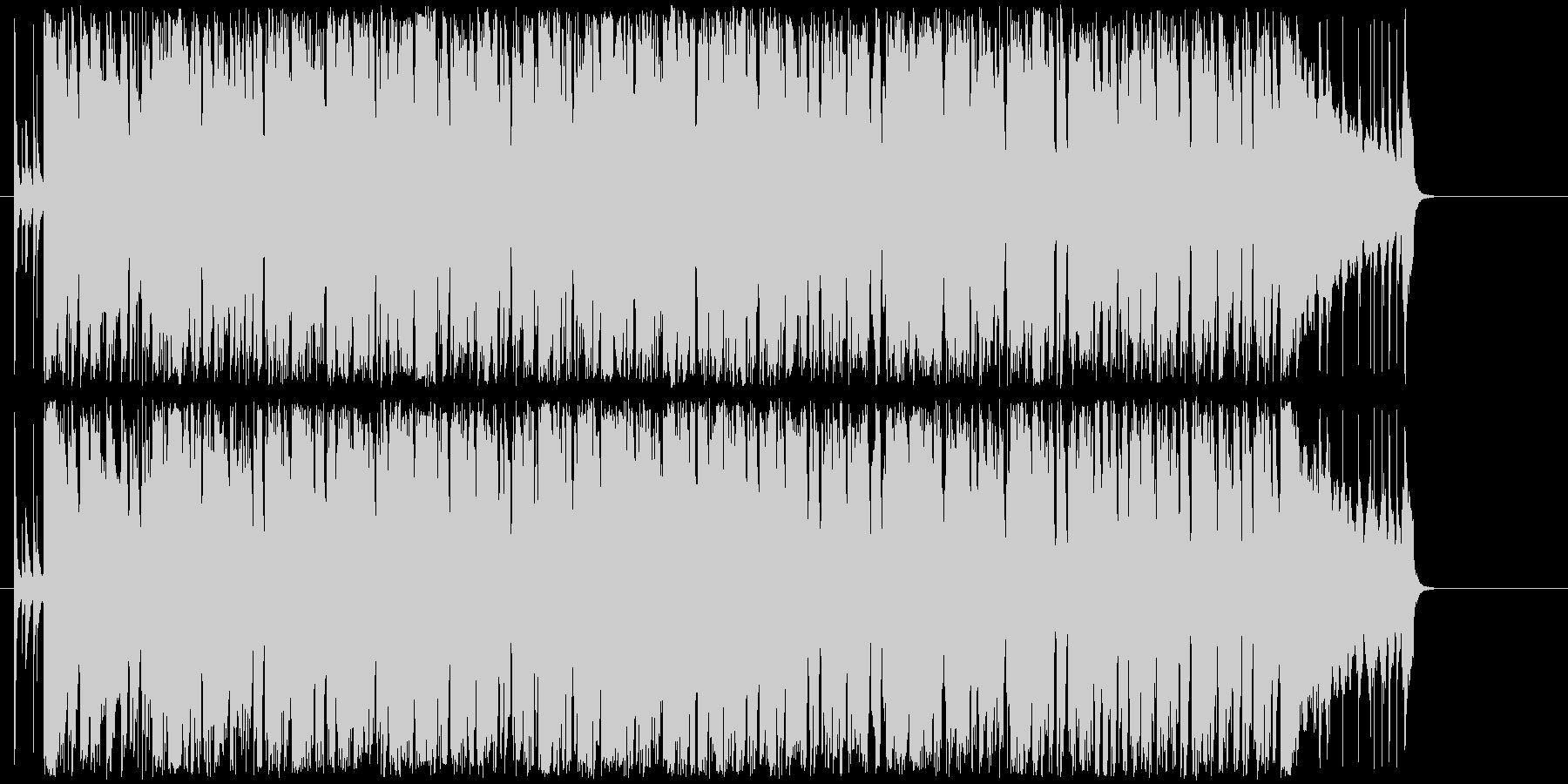 ほのぼのとしたアコースティックポップの未再生の波形