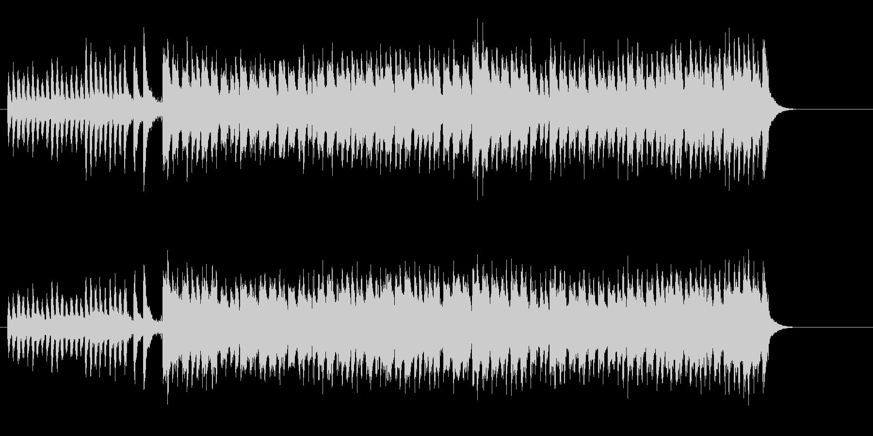 明るくかわいいマーチ・サウンドの未再生の波形