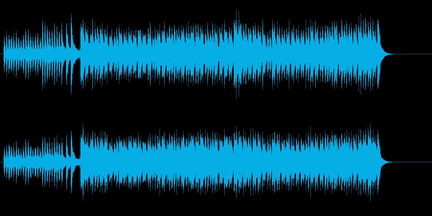 明るくかわいいマーチ・サウンドの再生済みの波形
