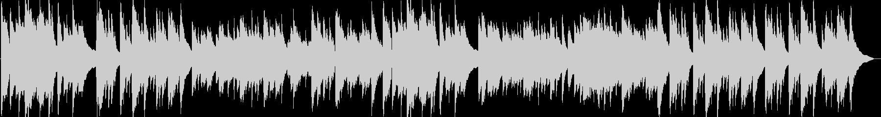 アコースティックギターほのぼのBGMの未再生の波形