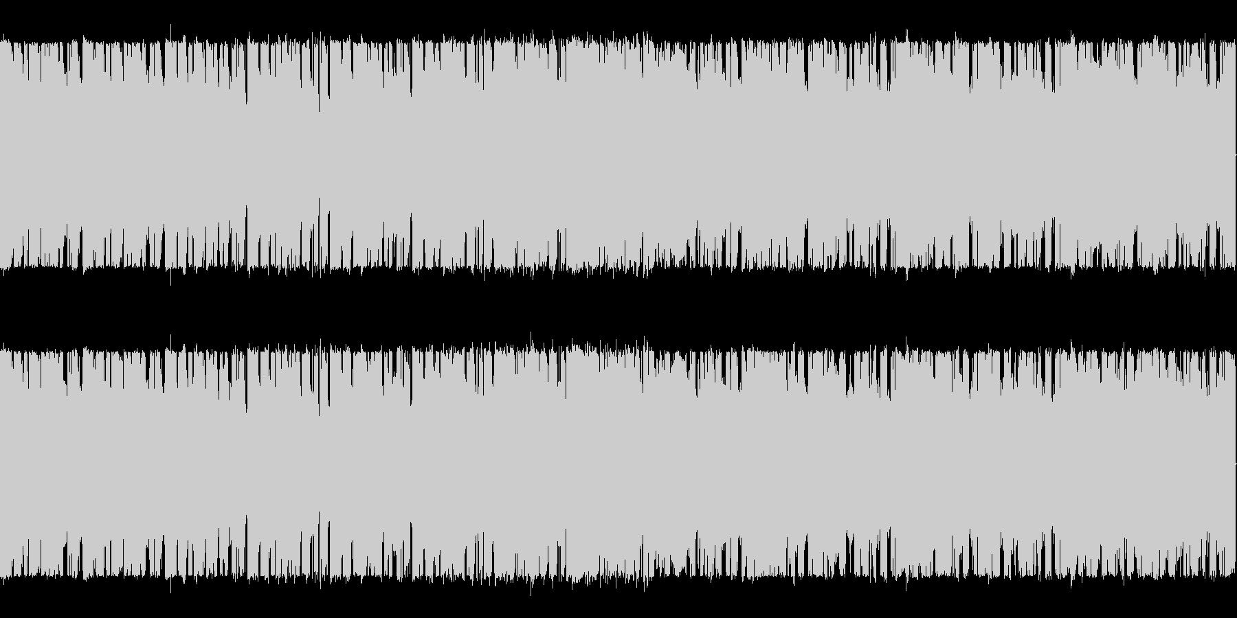 ブリブリベースのスロートランス系 の未再生の波形