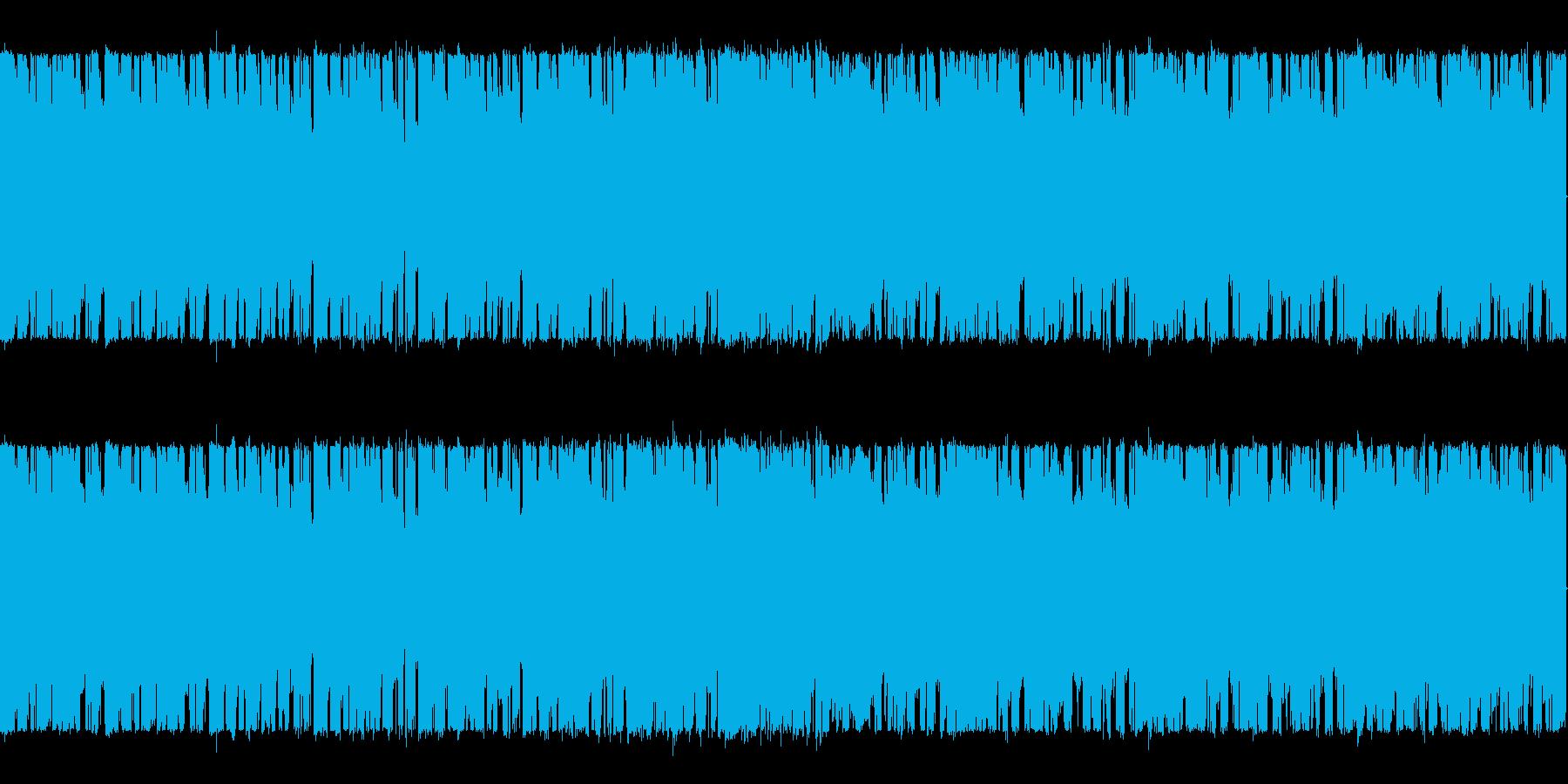 ブリブリベースのスロートランス系 の再生済みの波形