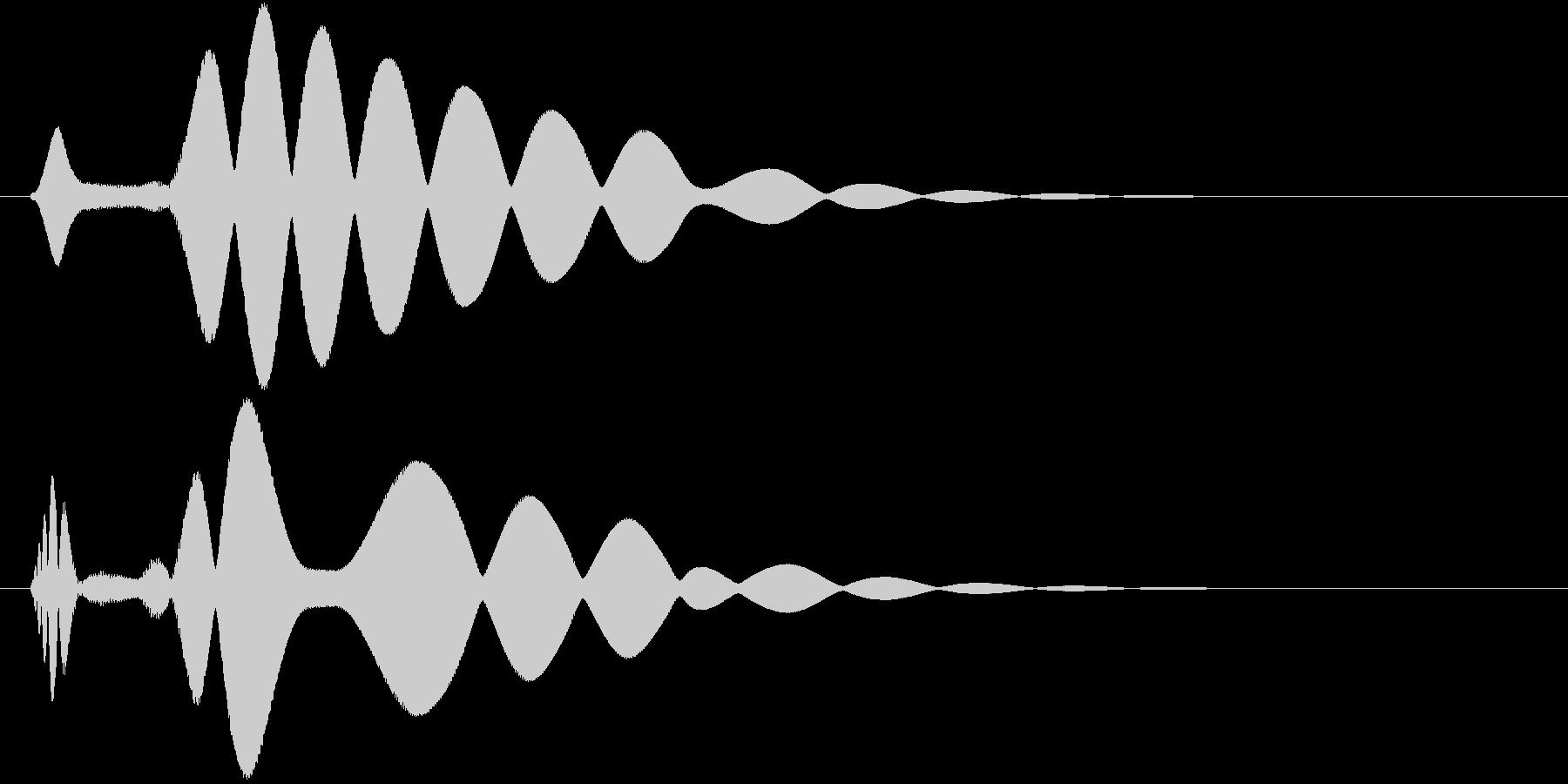 チュイーン(ドーピング薬)の未再生の波形