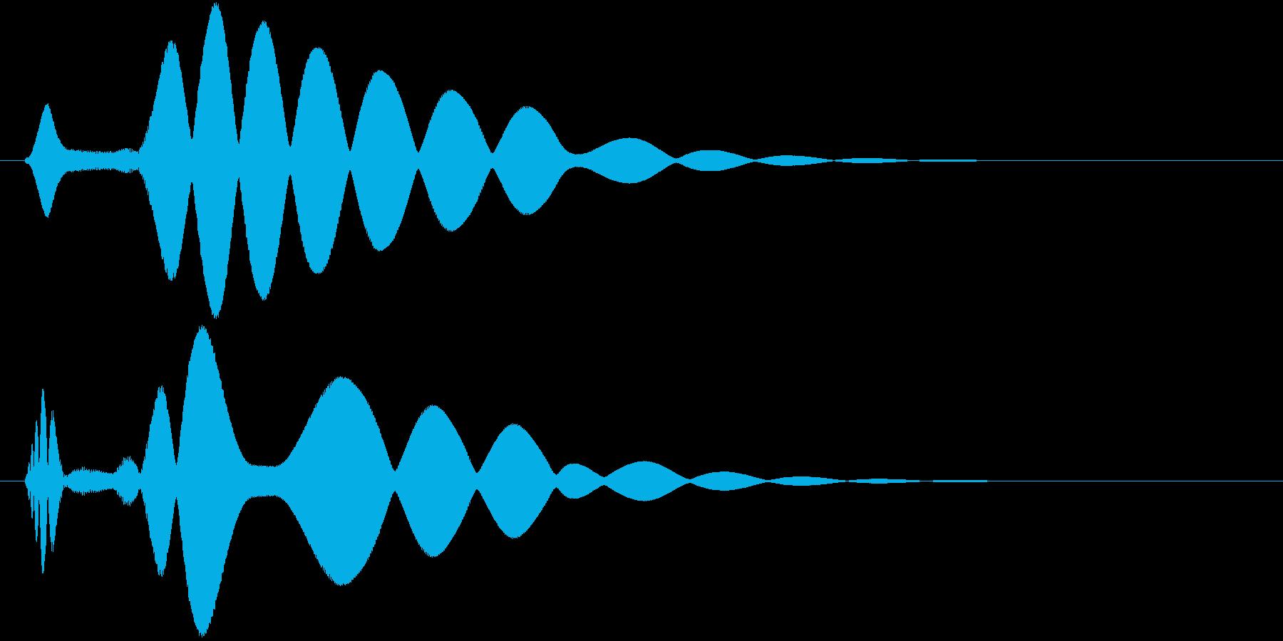 チュイーン(ドーピング薬)の再生済みの波形