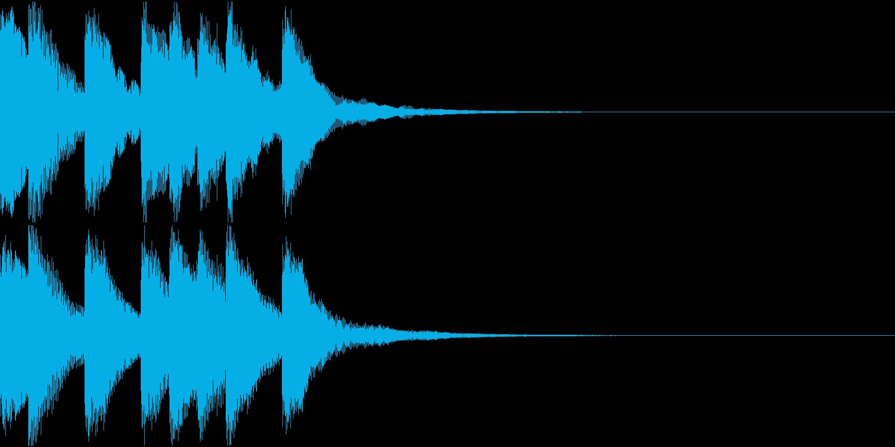 シンプル ベル チャイナ 中国風 20の再生済みの波形
