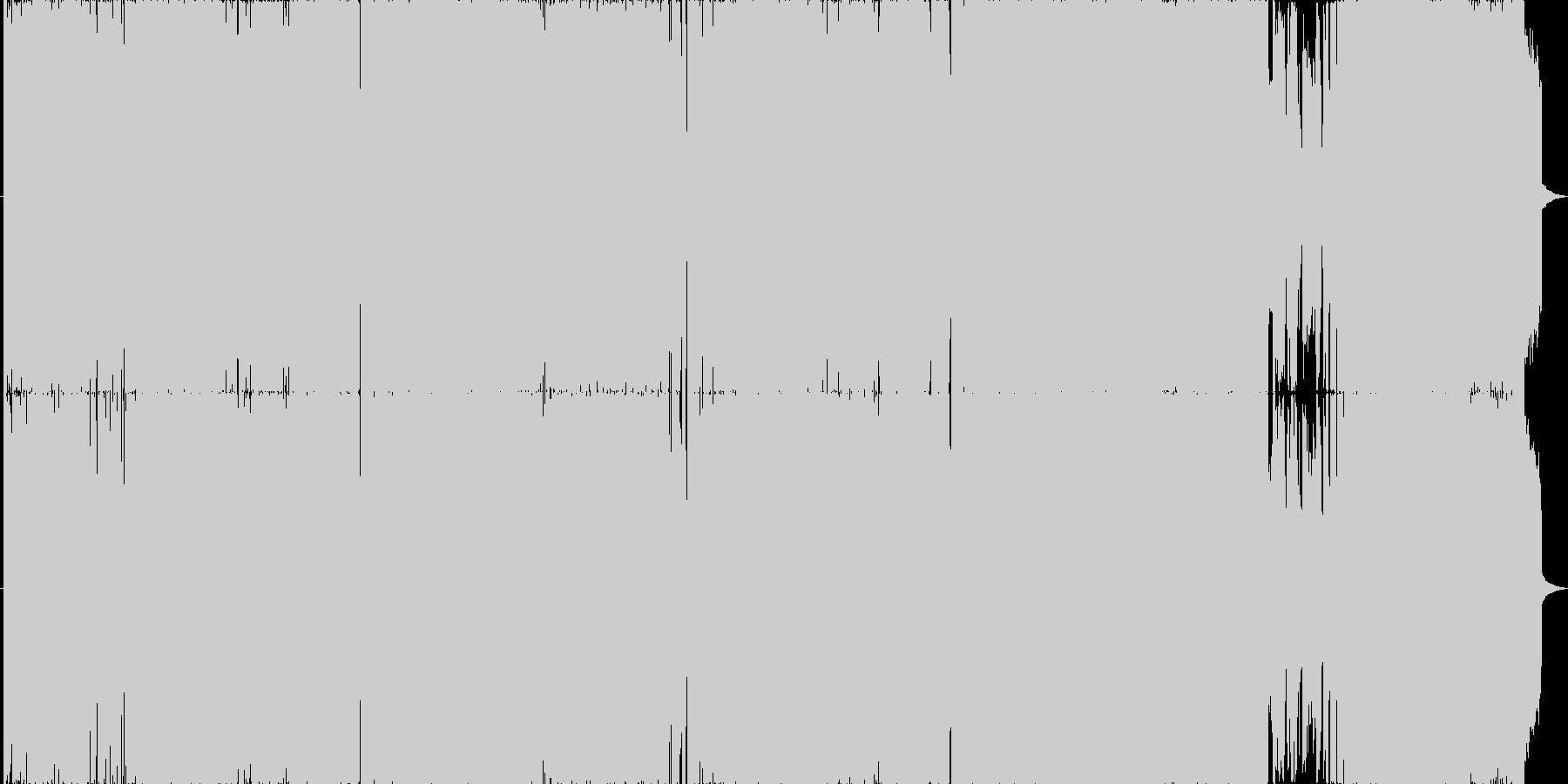 感情的なストリングスのアニソンの未再生の波形