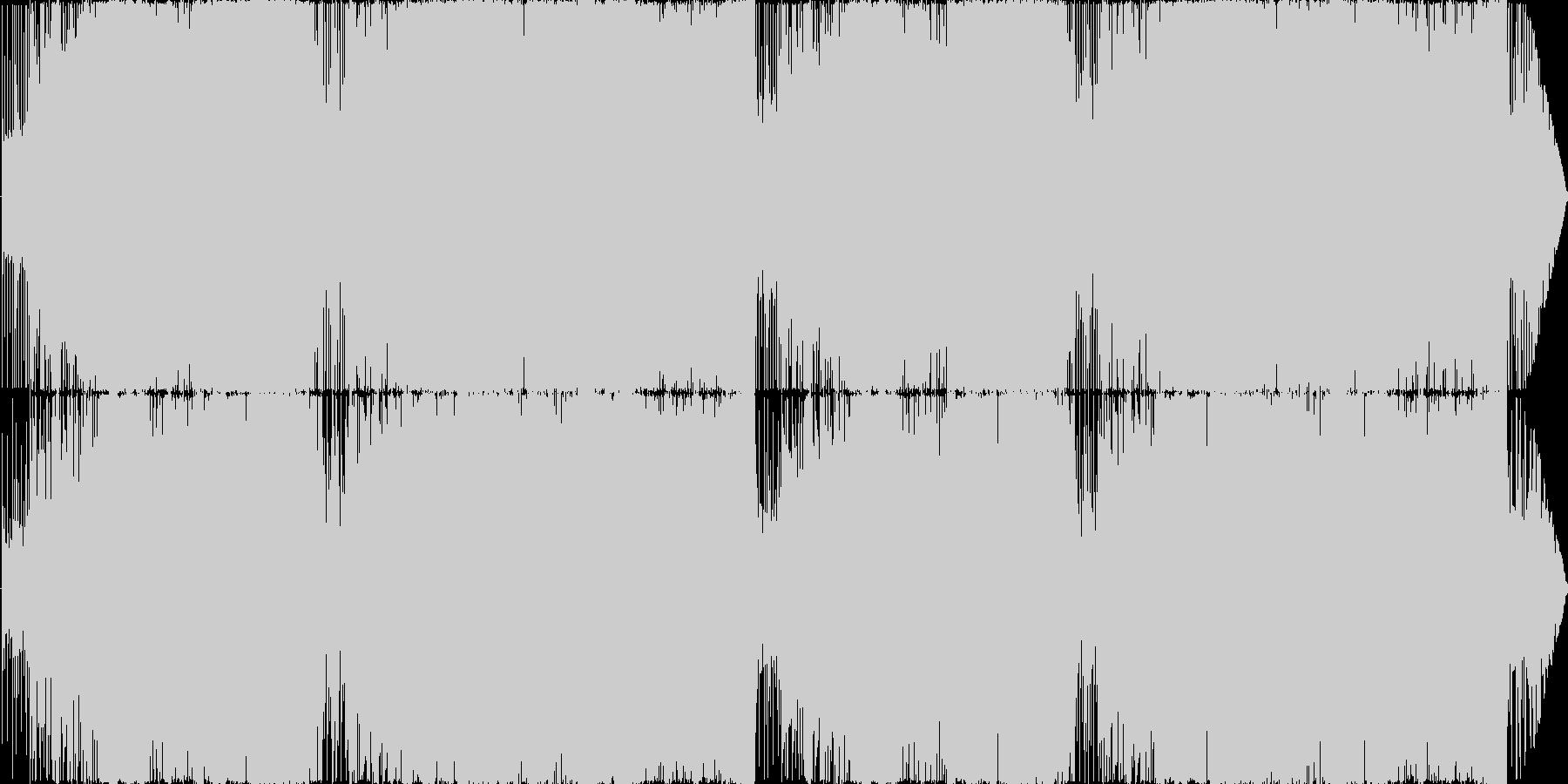 SRPG/バトル/戦闘/勇壮の未再生の波形