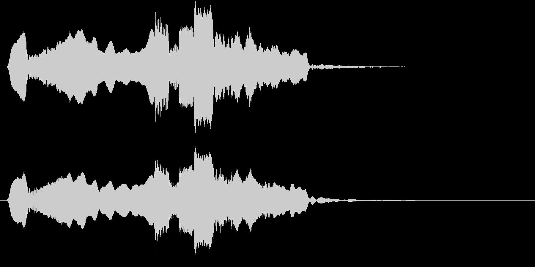 音侍SE「尺八フレーズ1」エニグマ音16の未再生の波形