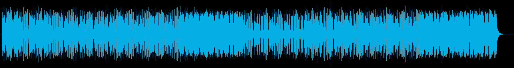 フルートの澄んだ華麗なメロディのポップスの再生済みの波形