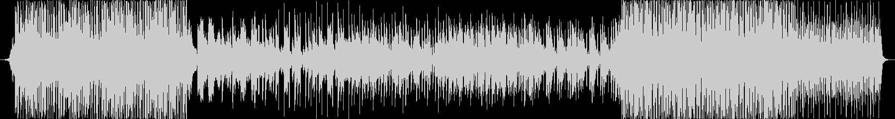 フルートと和楽器のトロピカルハウス風楽曲の未再生の波形