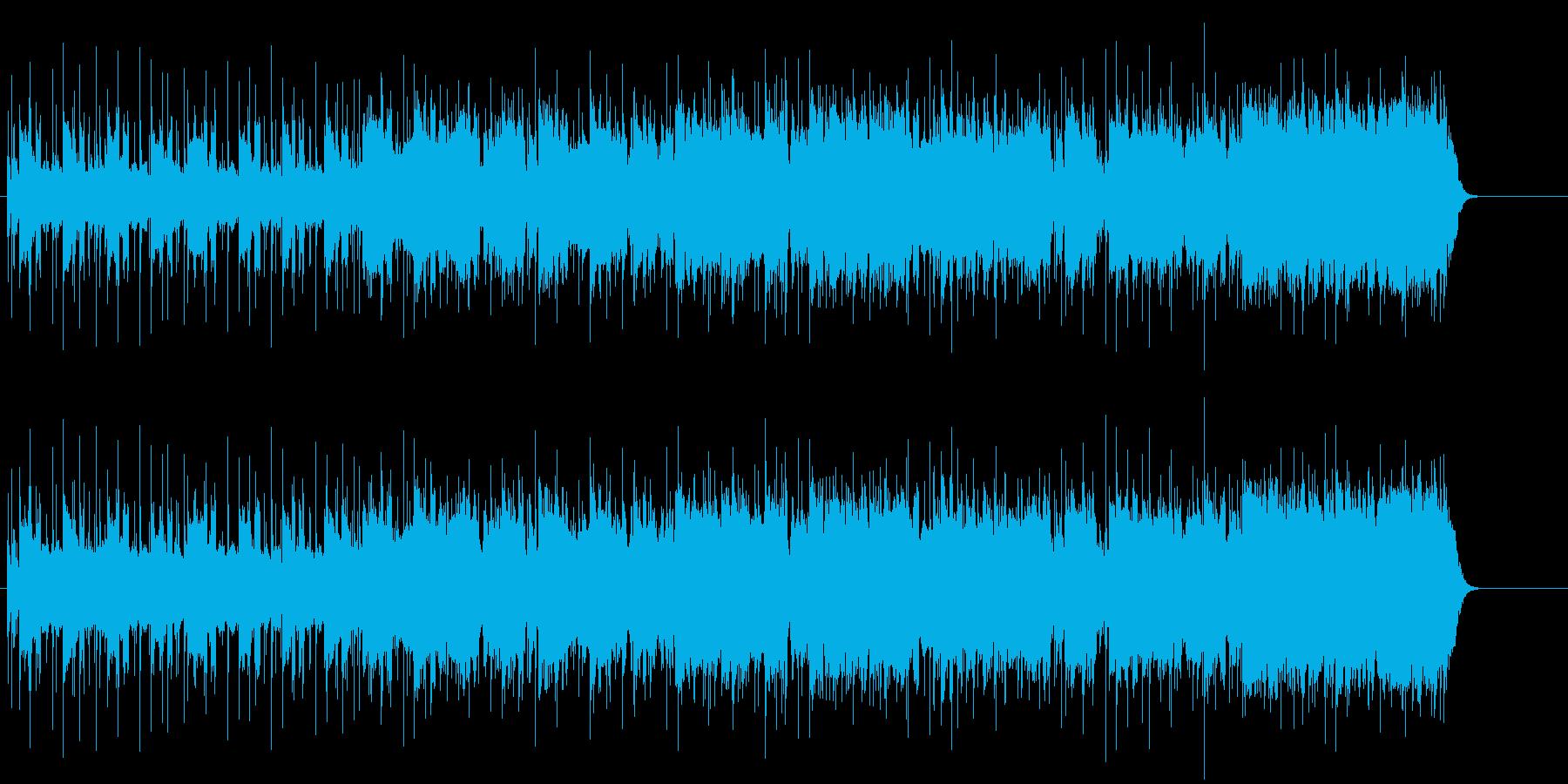 都会の黄昏時の渋いポップ/ロックの再生済みの波形