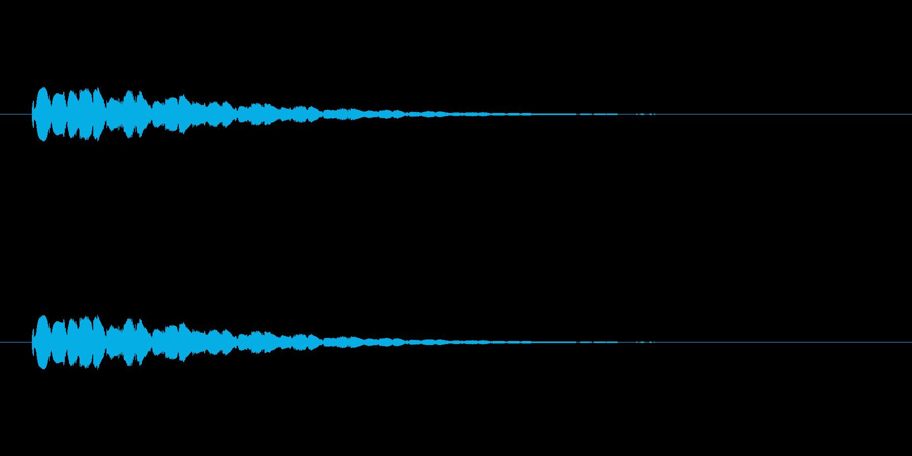 【ショートブリッジ26-7】の再生済みの波形