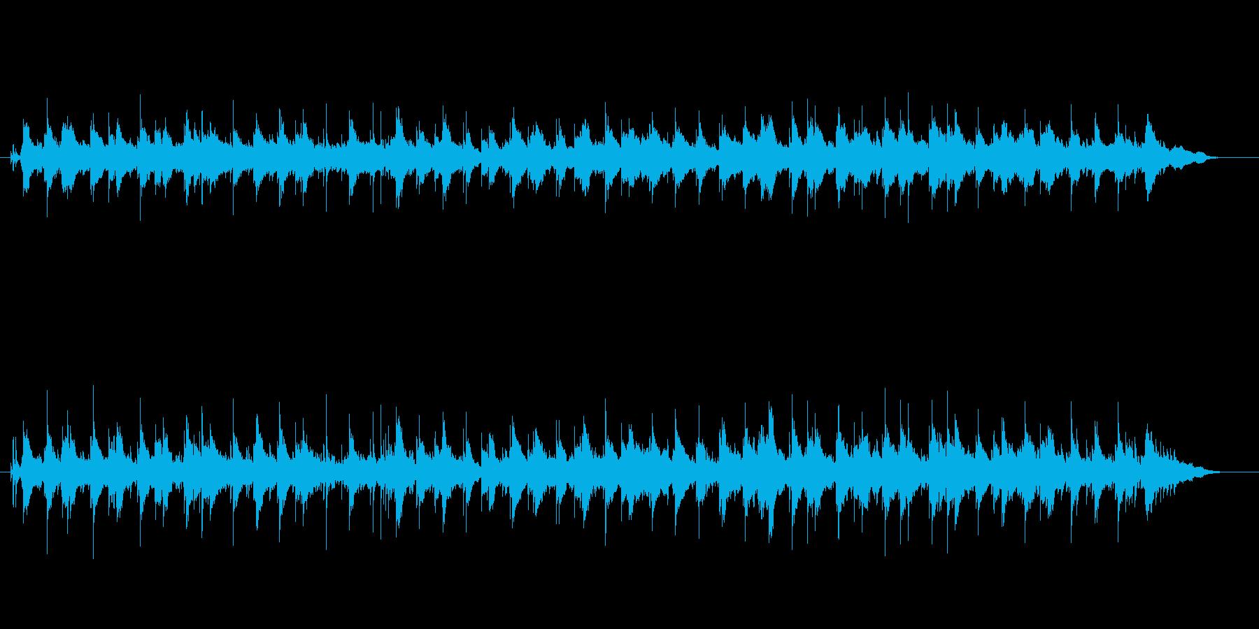メランコリックなバラードの再生済みの波形