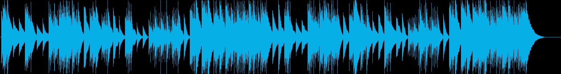メルヘンチックでクラシカルなオルゴールの再生済みの波形