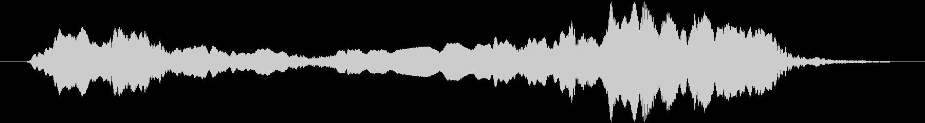 トンビ(トビ、鳶)ヒィィーョロロの未再生の波形
