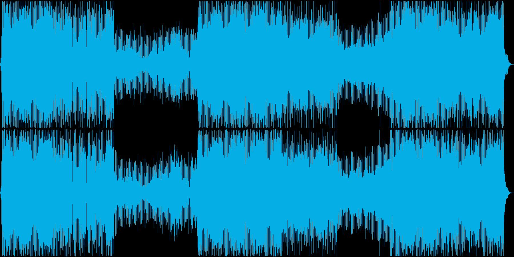 思い出 懐かしい 恋 愛 切ない EDMの再生済みの波形