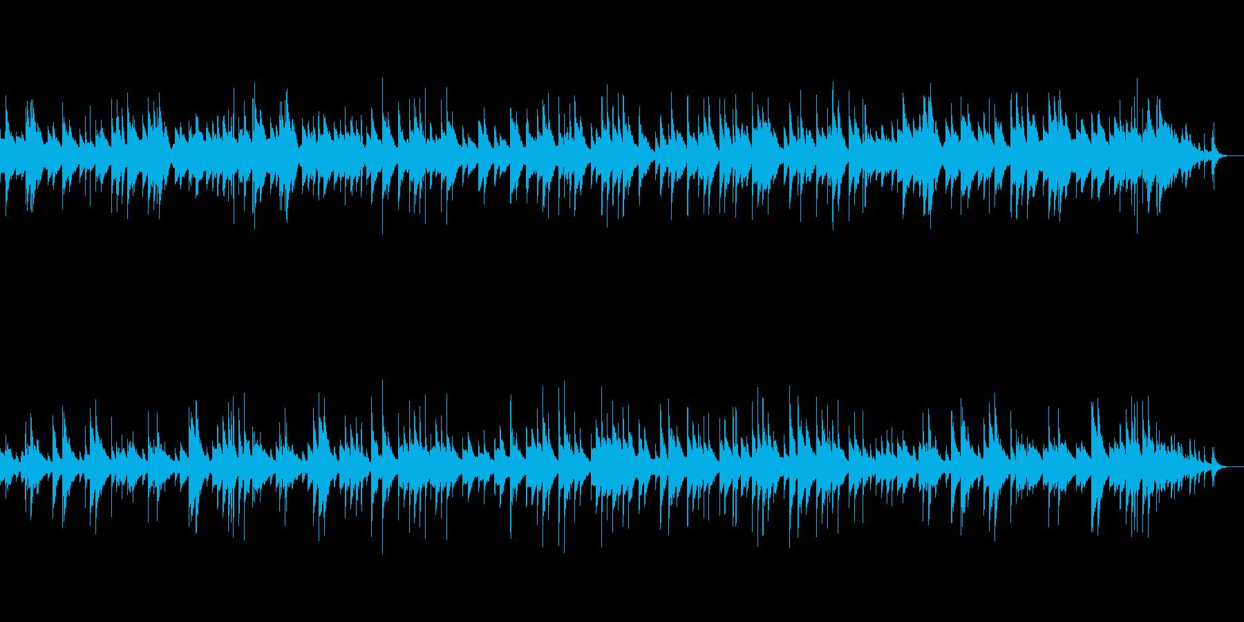 夕暮れを想起させるピアノの幻想的なワルツの再生済みの波形