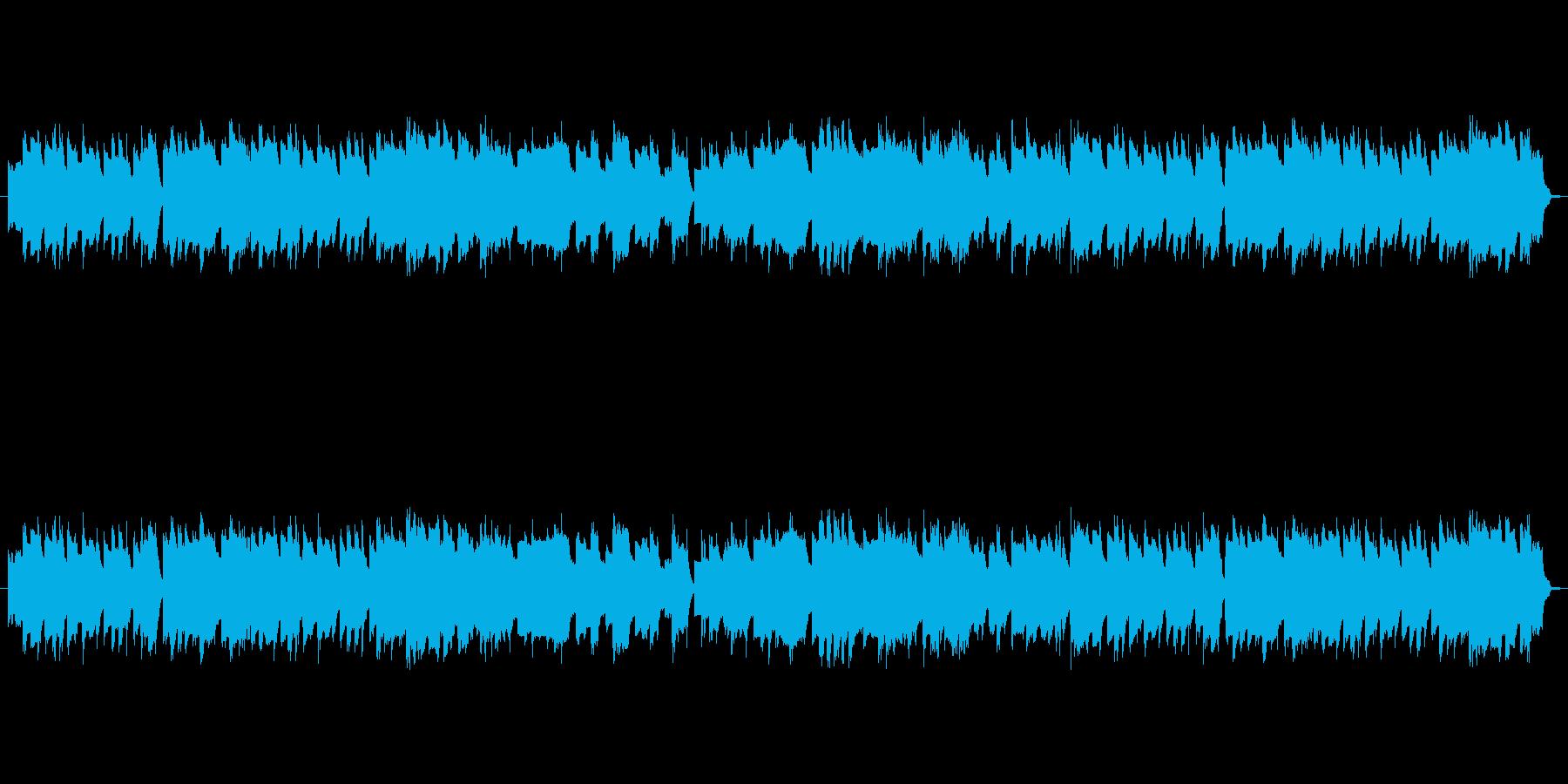 ファミコン風レトロタイトル画面-ポップの再生済みの波形