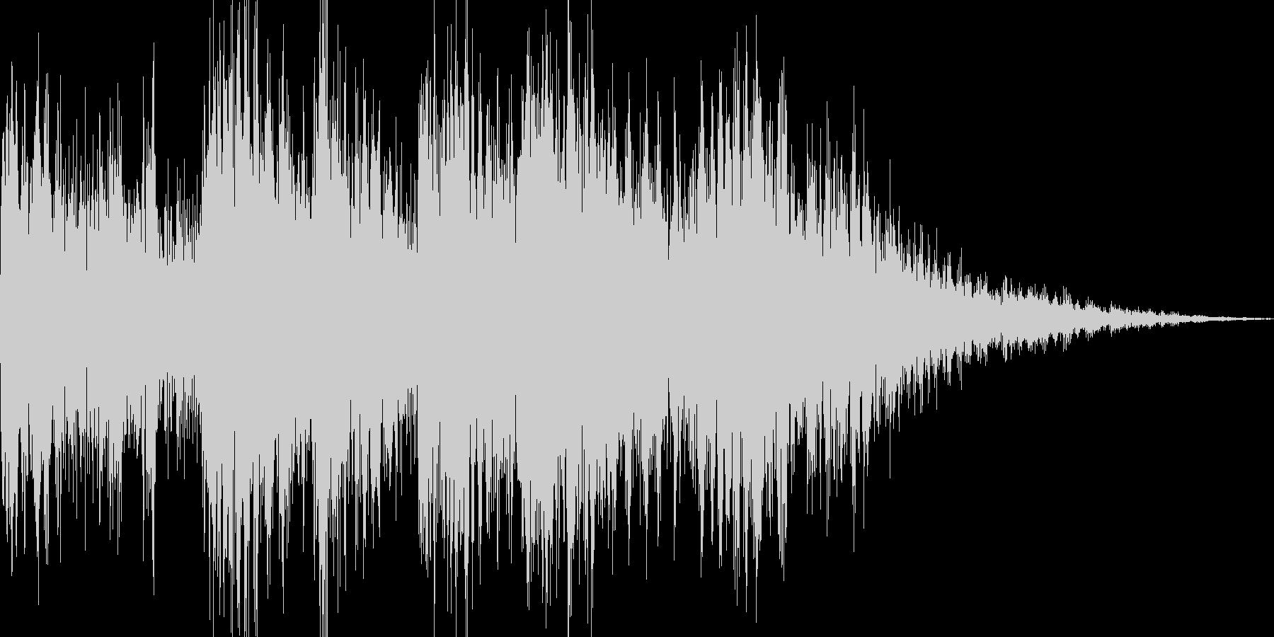 ビヨビヨビヨ(パワーアップ ビーム)の未再生の波形