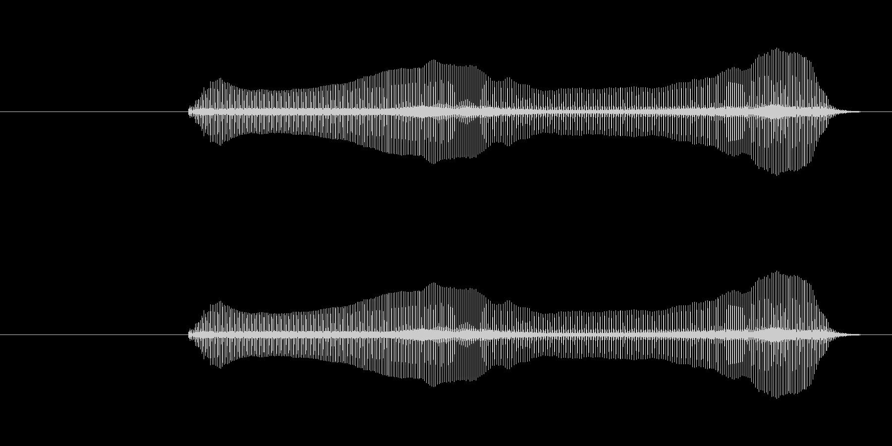 トロンボーンあるあるフレーズBPM160の未再生の波形