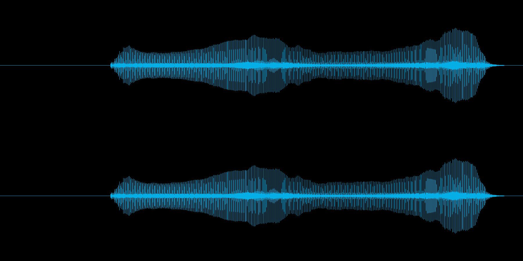 トロンボーンあるあるフレーズBPM160の再生済みの波形