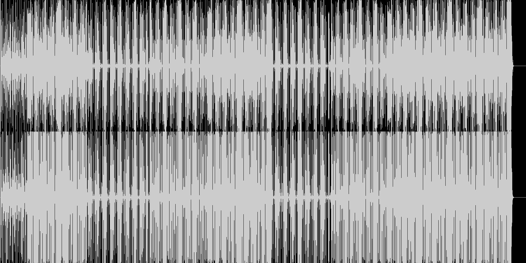 Trap サウス ビート の未再生の波形