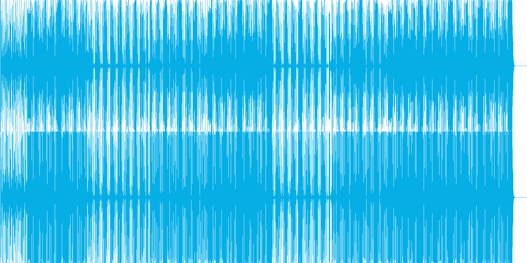 Trap サウス ビート の再生済みの波形