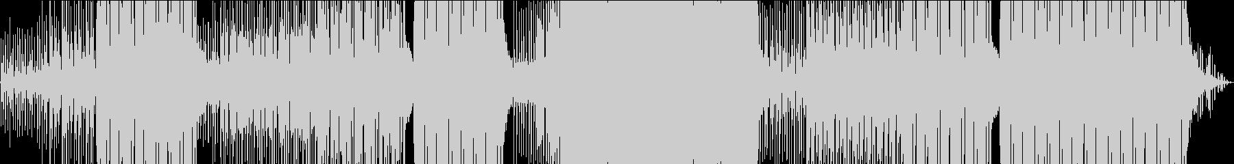 夏にぴったり涼しげトロピカル調のEDMの未再生の波形