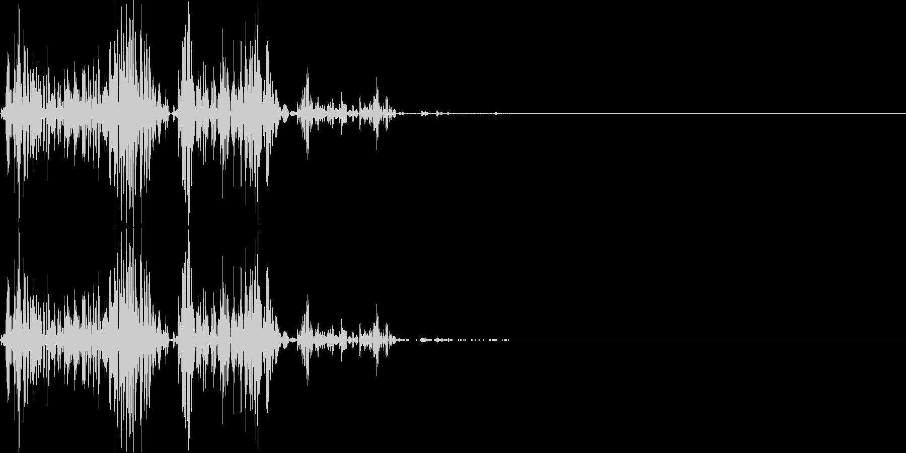 【ガスッ!】ファミコン系 破壊音_03の未再生の波形