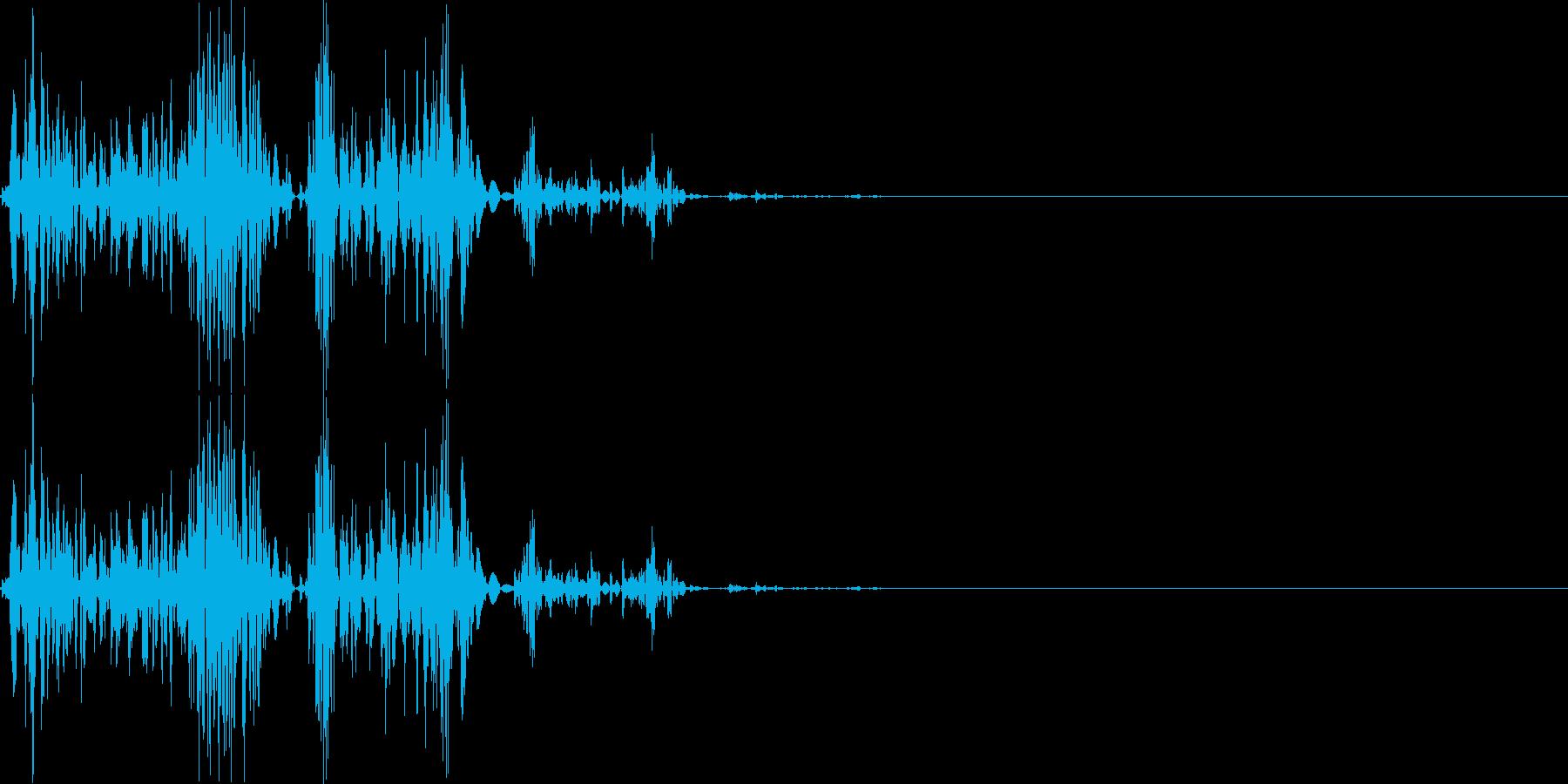【ガスッ!】ファミコン系 破壊音_03の再生済みの波形