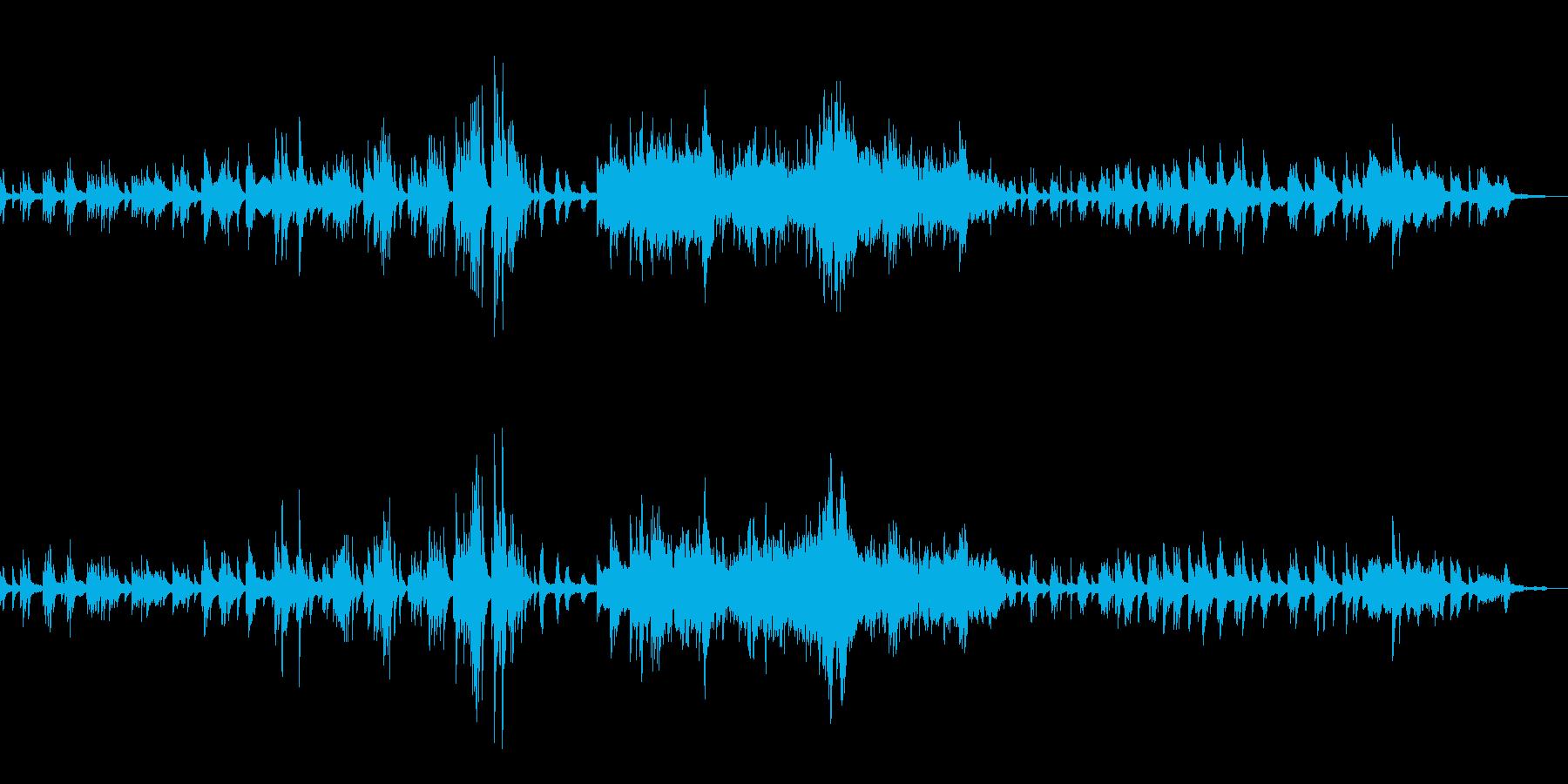 ドビュッシー『月の光』の再生済みの波形